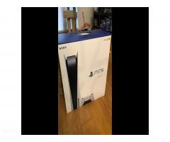 PS5 sony playstation 5 new console Disc
